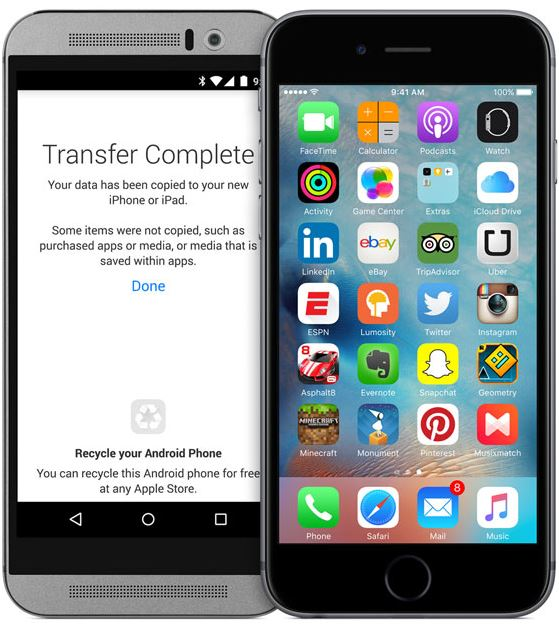 iPhone6Sios9android